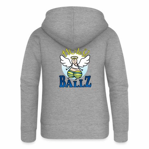 Holy Ballz Charlie - Women's Premium Hooded Jacket