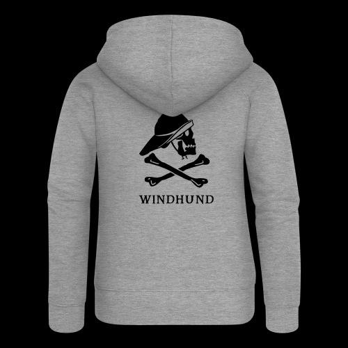 ~ Windhund ~ - Frauen Premium Kapuzenjacke