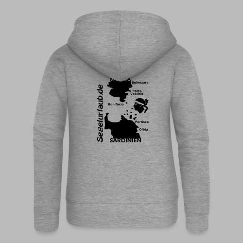 Korsika Sardinien Mori Shirt - Frauen Premium Kapuzenjacke