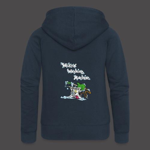 Wicked Washing Machine Cartoon and Logo - Vrouwenjack met capuchon Premium