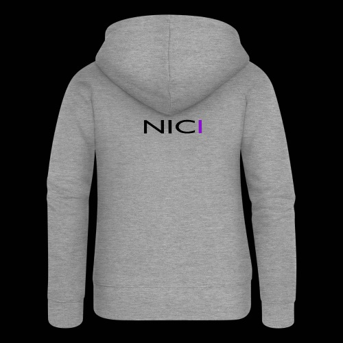 NICI logo Black - Naisten Girlie svetaritakki premium