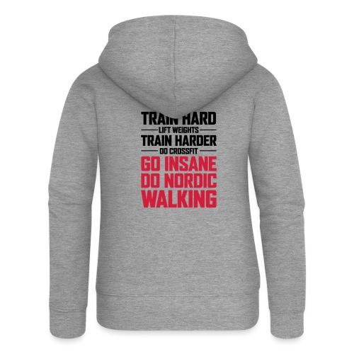 Nordic Walking - Go Insane - Naisten Girlie svetaritakki premium