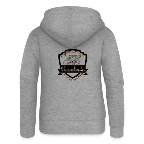 Cheetah Shield - Women's Premium Hooded Jacket