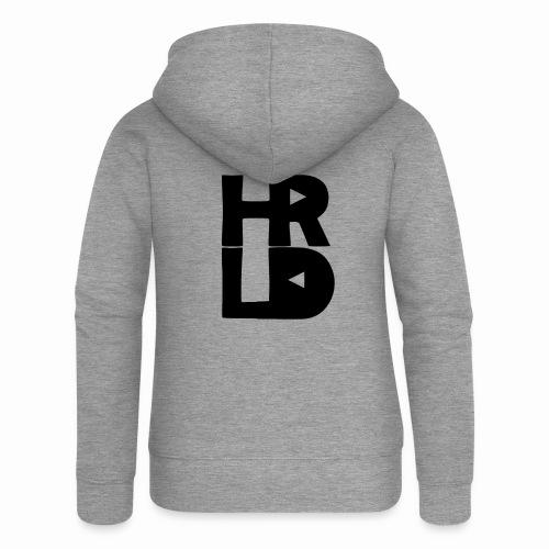 HRLD Black Logo - Naisten Girlie svetaritakki premium