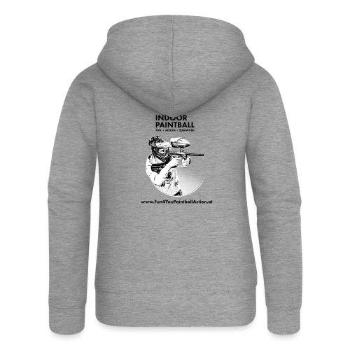 Fun4You T shirts - Frauen Premium Kapuzenjacke