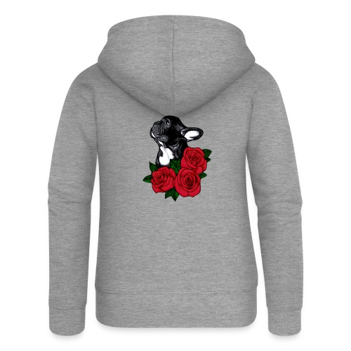 The French Bulldog Is So Famous - Women's Premium Hooded Jacket