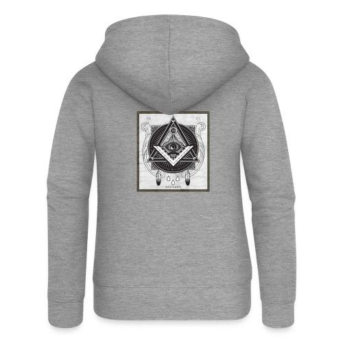 Illuminati - Veste à capuche Premium Femme