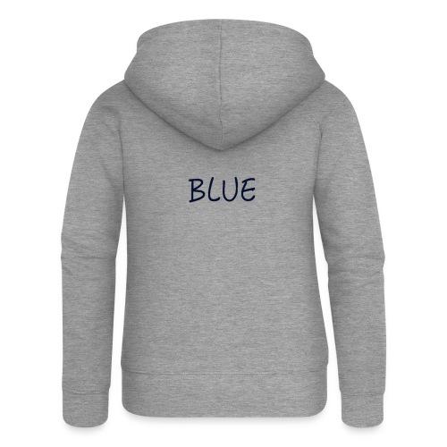 BLUE - Vrouwenjack met capuchon Premium