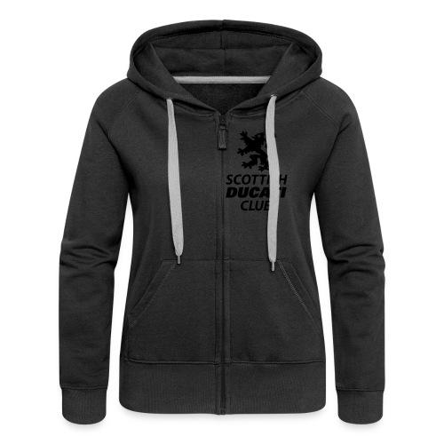 polo pocket 2 - Women's Premium Hooded Jacket
