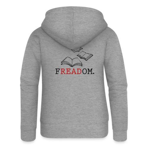 0205 Lesen | Freiheit | Entscheidung | Geschenk - Women's Premium Hooded Jacket