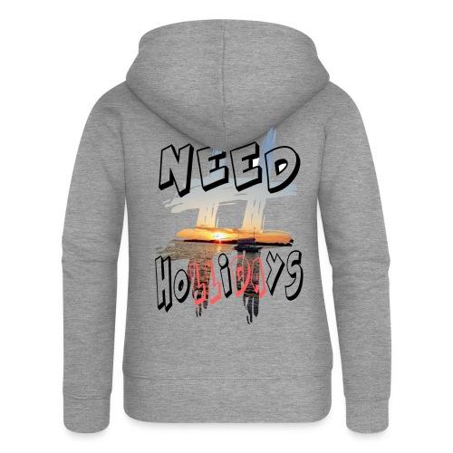 H-Tag Need Hollidays - Veste à capuche Premium Femme