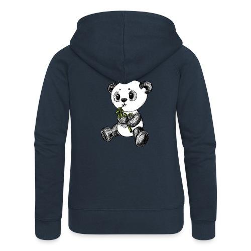 Panda Karhu värillinen scribblesirii - Naisten Girlie svetaritakki premium