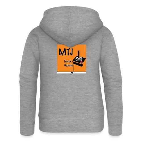 Mtj Logo - Premium hettejakke for kvinner