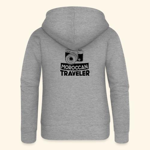Moroccan Traveler - Veste à capuche Premium Femme