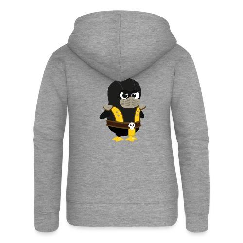 Pingouin Mortal Scorpion - Veste à capuche Premium Femme