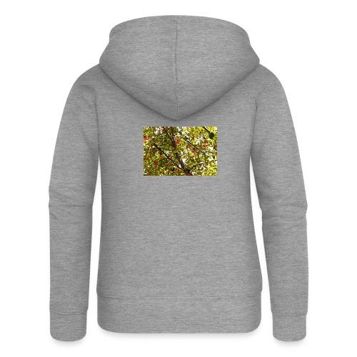 kersenboom afdruk/print - Vrouwenjack met capuchon Premium