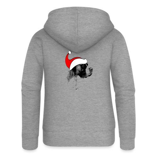 Weihnachten Bernhardiner Hunde Geschenkidee Design - Frauen Premium Kapuzenjacke