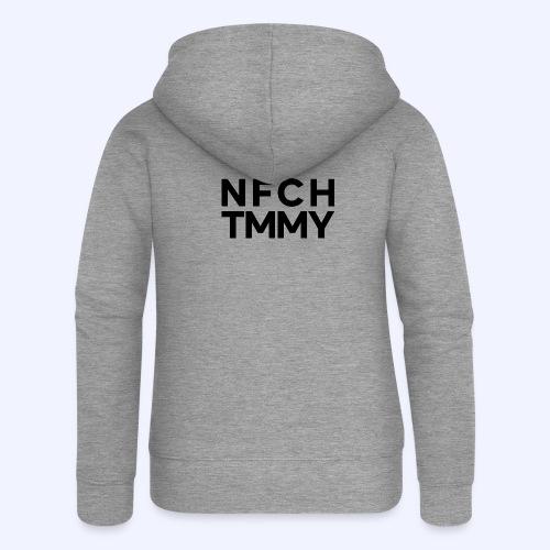 Einfach Tommy / NFCHTMMY / Black Font - Frauen Premium Kapuzenjacke