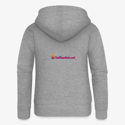 UrlRoulette Logo - Women's Premium Hooded Jacket