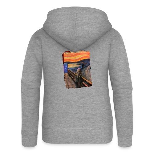 Screaming Tardis - Women's Premium Hooded Jacket