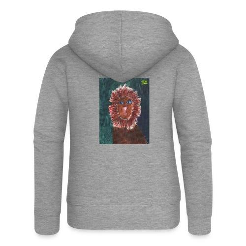 Lion T-Shirt By Isla - Women's Premium Hooded Jacket