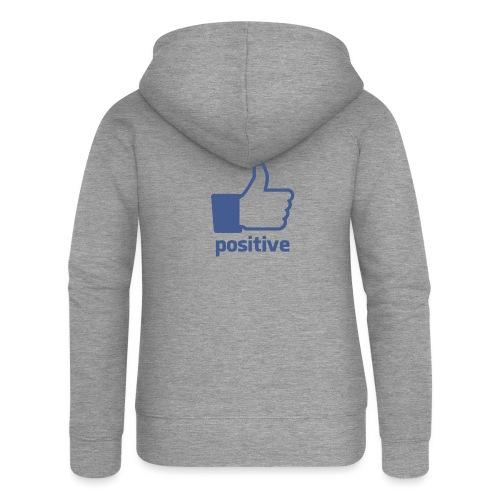 positive - Chaqueta con capucha premium mujer