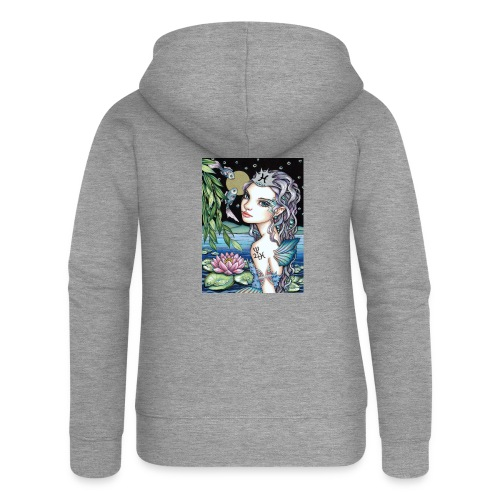 Pisces girl Fische Mädchen - Women's Premium Hooded Jacket