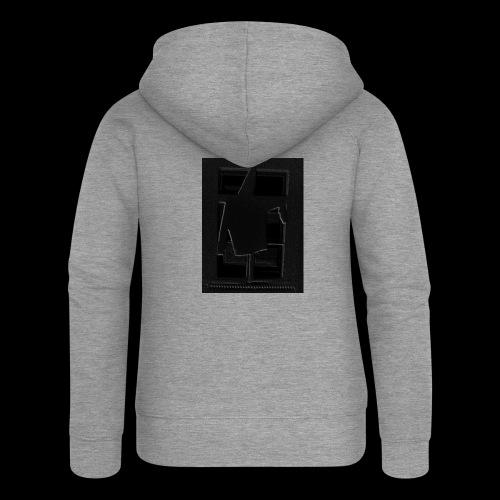 Dark Negative - Women's Premium Hooded Jacket