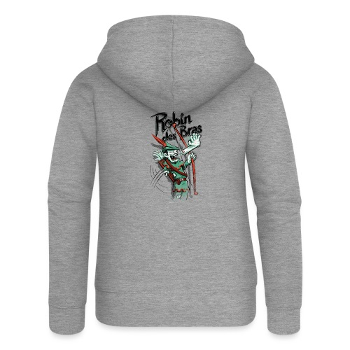 Robin des Bras - Women's Premium Hooded Jacket