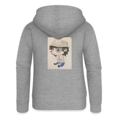 la vida es bella - Chaqueta con capucha premium mujer