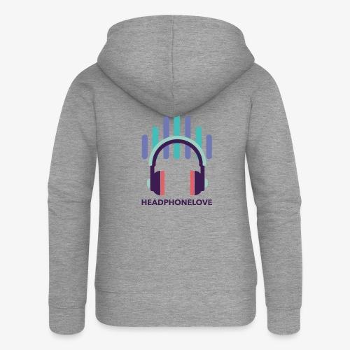 headphonelove - Frauen Premium Kapuzenjacke