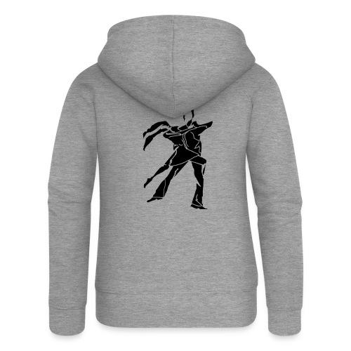 dancesilhouette - Women's Premium Hooded Jacket
