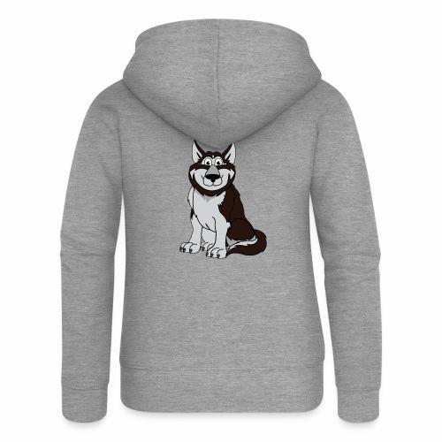 Husky - Frauen Premium Kapuzenjacke