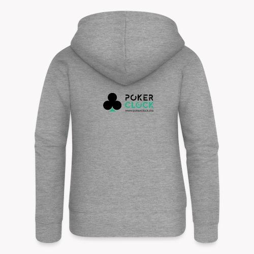 Poker Clock Logo - Frauen Premium Kapuzenjacke