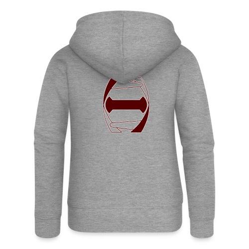 Histoni logo punainen stroke - Naisten Girlie svetaritakki premium