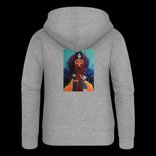 los fieles difuntos - Women's Premium Hooded Jacket
