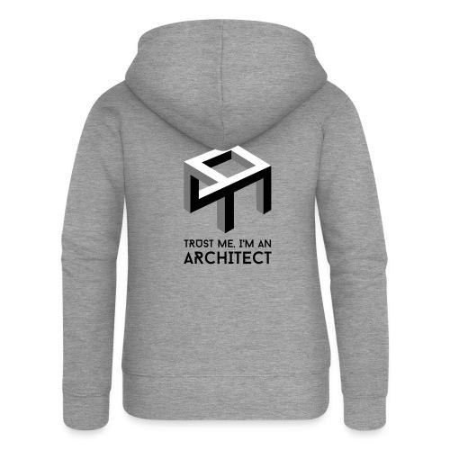 Trust me, I'm an Architect - Naisten Girlie svetaritakki premium