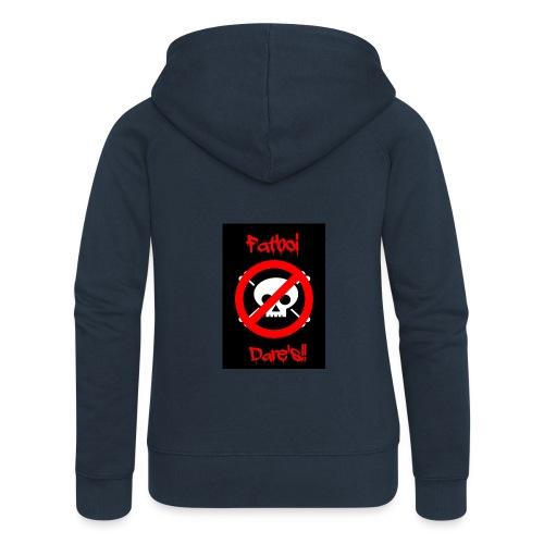 Fatboi Dares's logo - Women's Premium Hooded Jacket