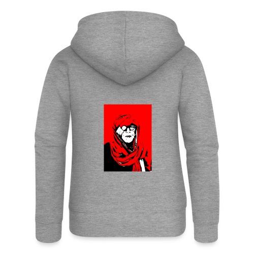 L'homme rouge représente la terre rouge d'Afrique. - Veste à capuche Premium Femme