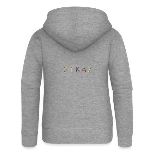 KikaZ coloré - Cineraz - Veste à capuche Premium Femme