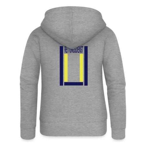Rettungsdienst Junior Shirt - Frauen Premium Kapuzenjacke