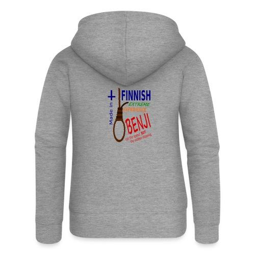 FINNISH-BENJI - Women's Premium Hooded Jacket