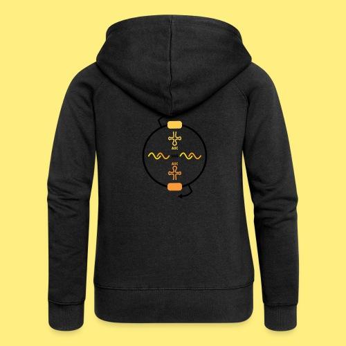 Biocontainment tRNA - shirt men - Vrouwenjack met capuchon Premium
