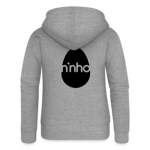 Ninho - Felpa con zip premium da donna