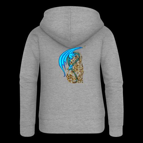 Celtic Dragon - Women's Premium Hooded Jacket