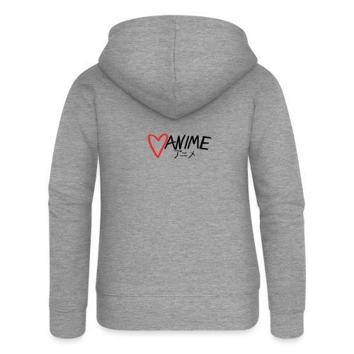 Heart Anime - Women's Premium Hooded Jacket