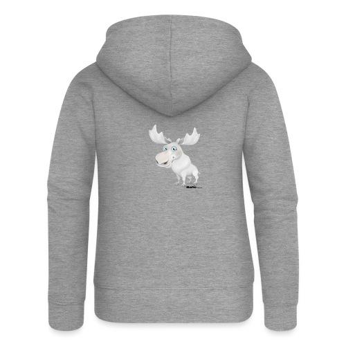 Albino elg - Premium hettejakke for kvinner