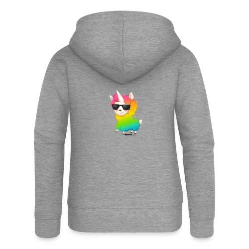 Regenboog animo - Vrouwenjack met capuchon Premium