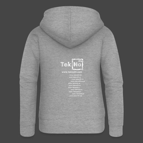tekno23 - Veste à capuche Premium Femme