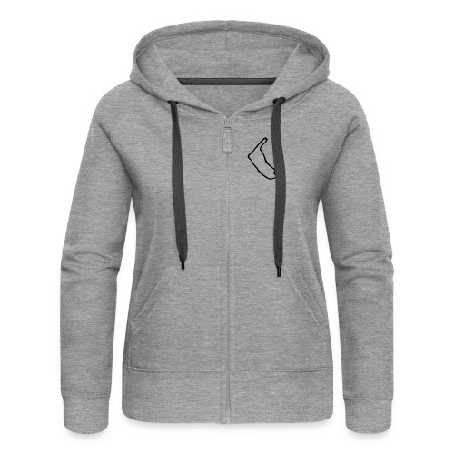 Amrum Logo - Frauen Premium Kapuzenjacke